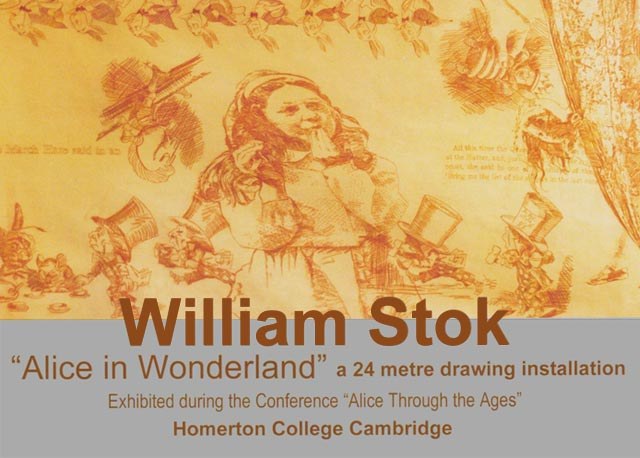 William Stok Alice in Wonderland Univeristy of Camridge Homerton College