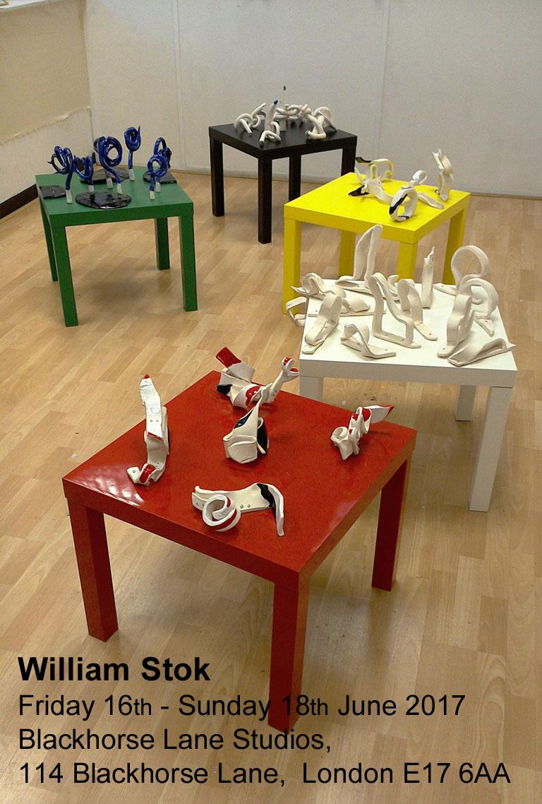 Five Landscape - Blackhorse Lane Exhibition William Stok
